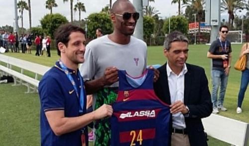 Kobe Bryant en Los Ángeles
